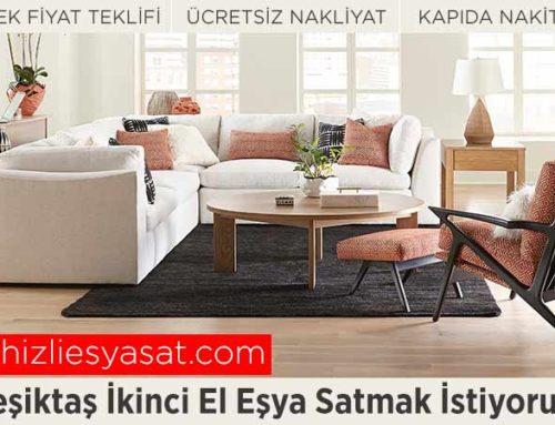 Beşiktaş İkinci El Eşya Satmak İstiyorum