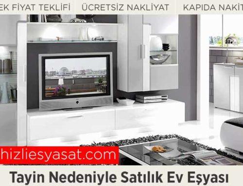 Tayin Nedeniyle Satılık Eşya Alanlar İstanbul